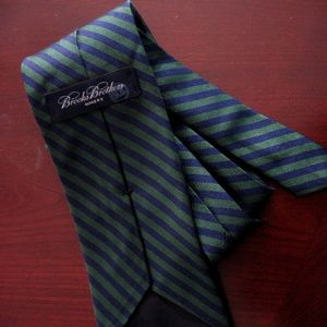 CLASSIC BROOKS BROTHERS GREEN & BLUE REP TIE